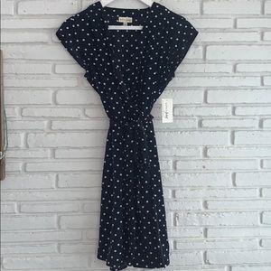 Maison Jules polkadot dress 👗
